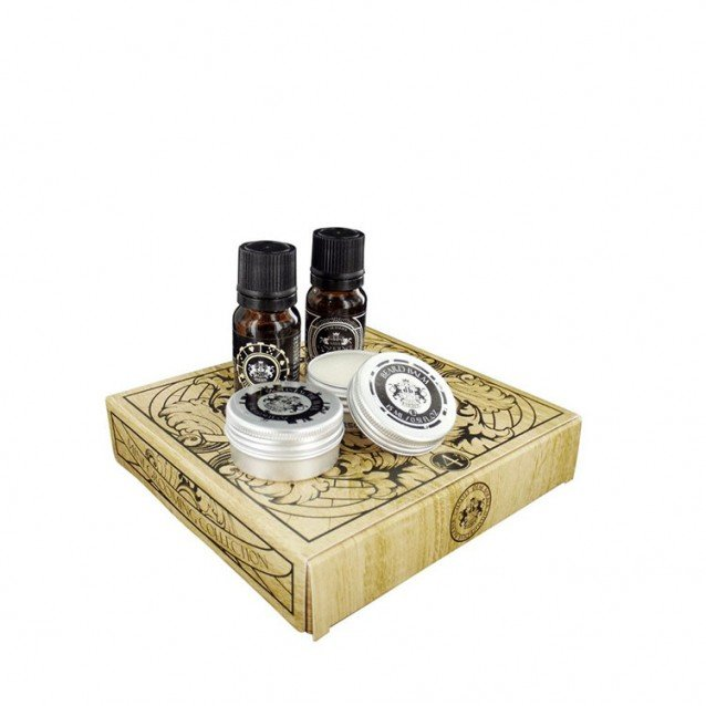 Set ingrijire barba Dear Barber Mini Grooming Kit Collection