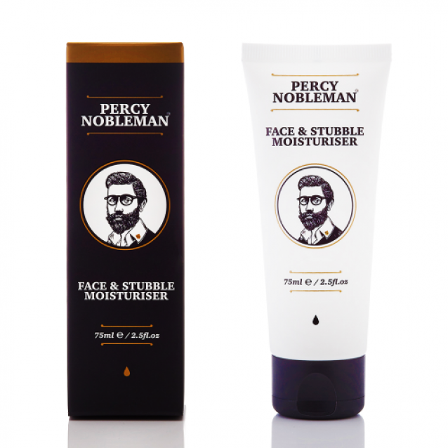 Crema Hidratanta pentru Fata si Barba Mica Percy Nobleman Face & Stubble Moisturiser
