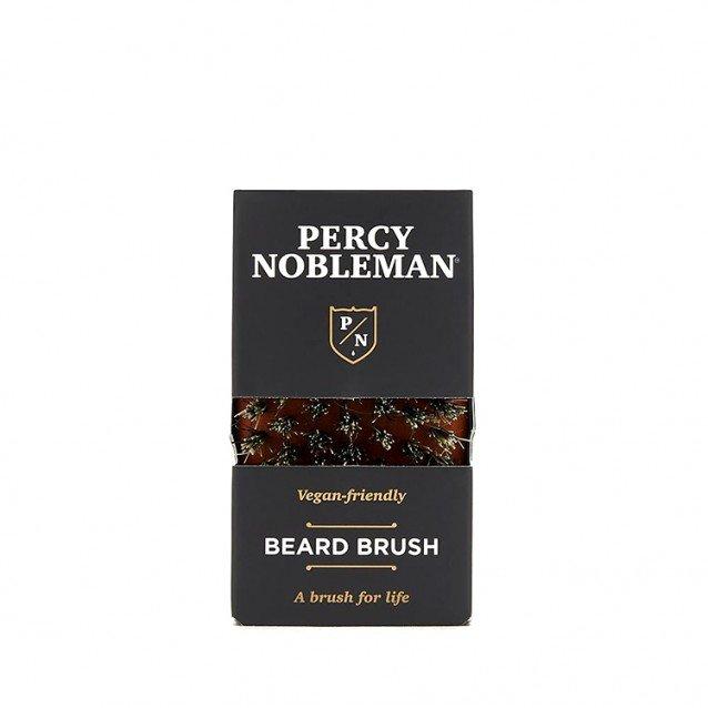 Perie de Barba din Lemn de Par Australian, Par de Fibre de Tampico, Percy Nobleman
