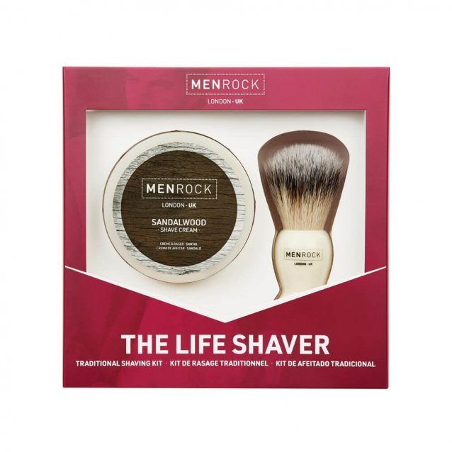 Set pentru Barbierit Men Rock The Life Shave Sandalwood