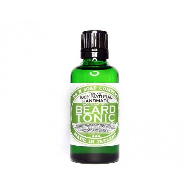 Ulei de barba Dr K Soap Beard Tonic Woodland Spice - Dr K Soap
